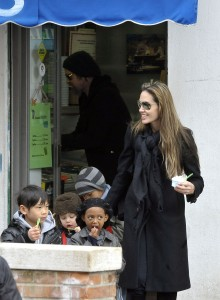 The Jolie-Pitts Take Venice!