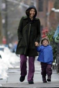 Maggie and Ramona Enjoy a Winter Stroll in Brooklyn