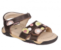 Gillian double dot Sandals with Memory Foam Technology)