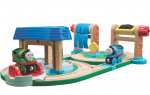 Thomas Wooden Railway Early Engineers Busy Day on Sodor Set