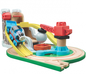 Thomas Wooden Railway Early Engineers Rock and Roll Quarry Set