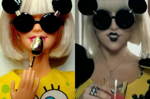 Barbie Goes Gaga!