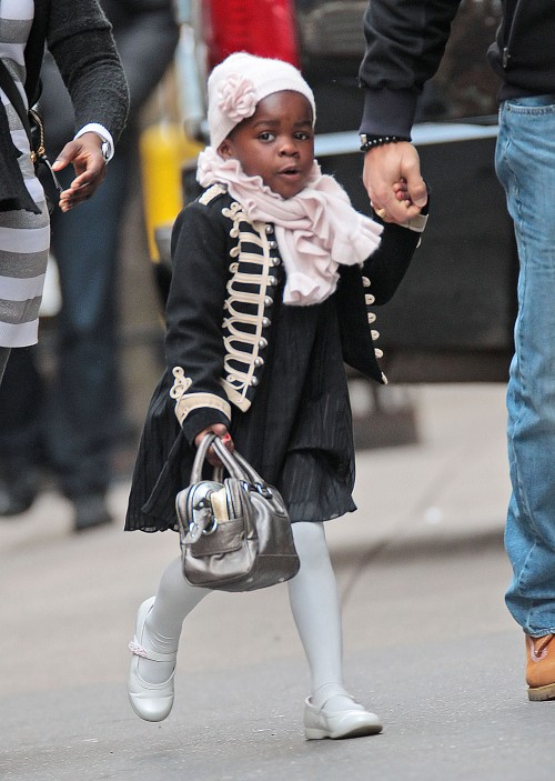 Mercy James Is One Stylish Little Girl!