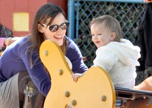 Jen and Her Girls Enjoy Afternoon At The Park
