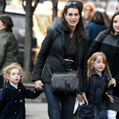 Brooke Shields Steps Out With Her Greenwich Girls