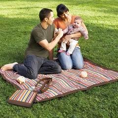Skip Hop Introduces The Central Park Outdoor Blanket + Cooler Bag