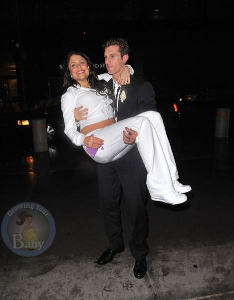 An Expectant Bethenny Frankel Gets Carried Away After Her NYC Wedding!
