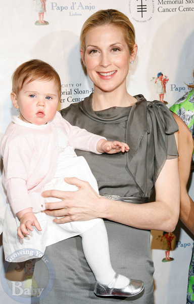 Kelly Rutherford and Daughter Helena Attend 19th Annual Bunny Hop Event