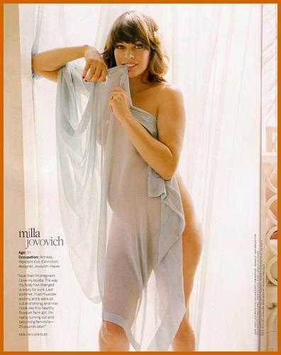 milla jovovich video