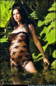 Monica Belucci Covers Vanity Fair August 2004