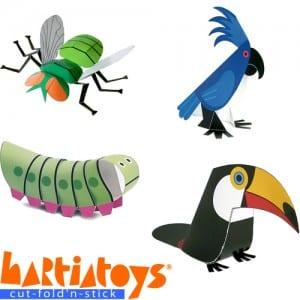 Hartiatoys: Paper Craft Fun