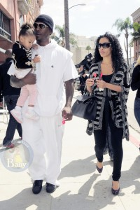 Tyrese Gibson Treats His Daughter To Fro-Yo