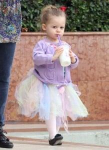 Harlow Madden Is One Cute Little Ballerina!