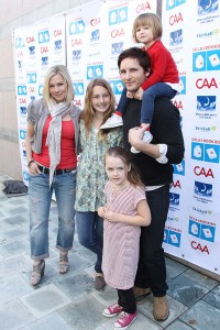Jennie Garth and Family Support Milk + Bookies