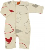 Nature Baby Free Range - Full PJ Suit