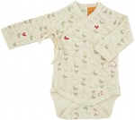 Nature Baby Free Range  - Kimono Bodysuit