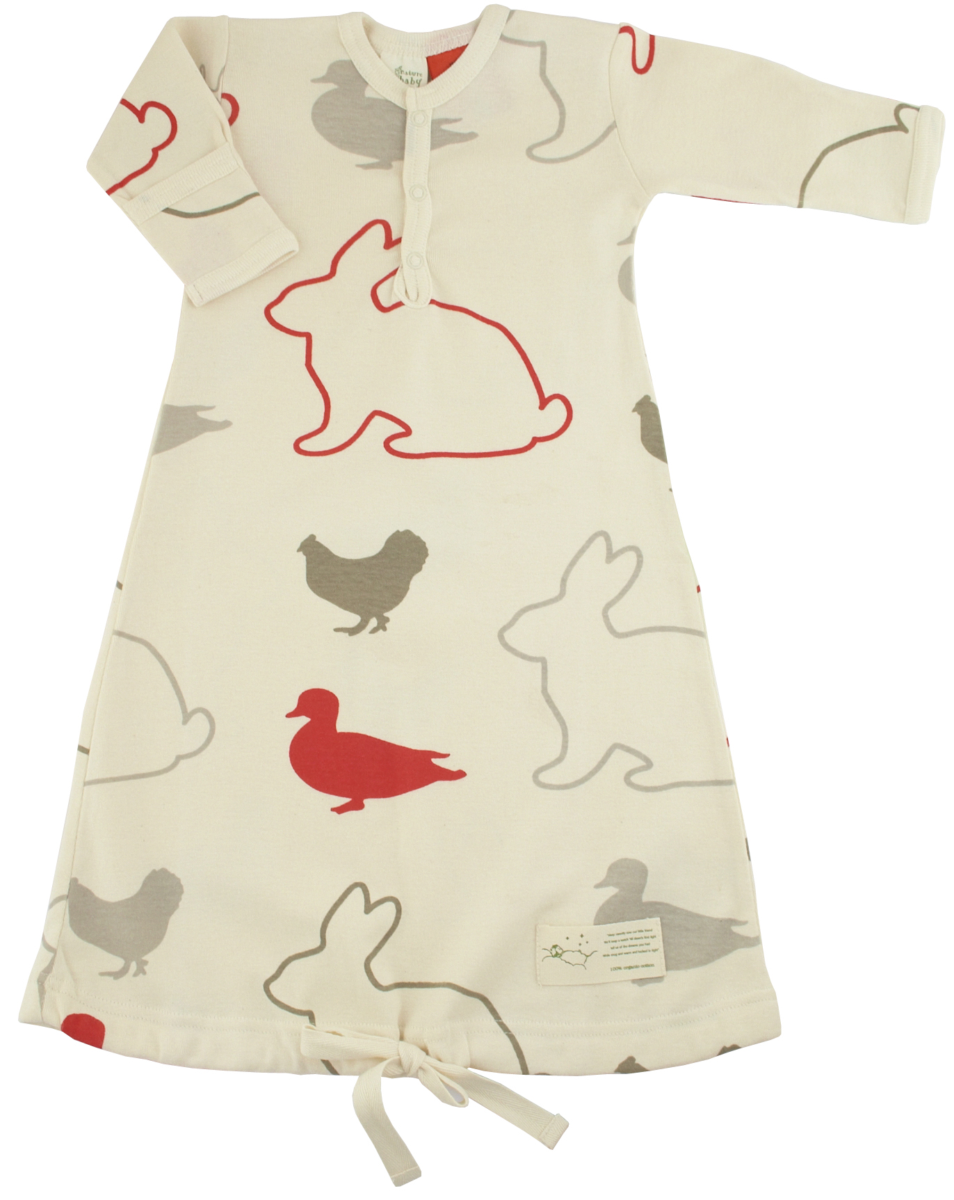 Nature Baby Free Range - Sleep Gown - Growing Your Baby