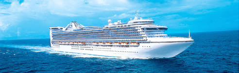 Press Shot Caribbean Princess