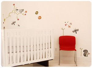 Wee Gallery Wall Graphics – Garden