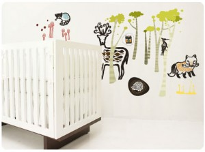 Wee Gallery Wall Graphics – Woodland