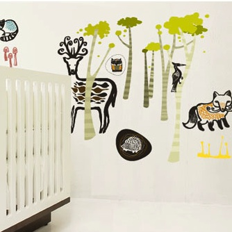 Wee Gallery Wall Graphics – Funky Baby Art