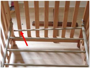 simplicity cribs recalled by retailers mattress support collapse rh growingyourbaby com simplicity ellis convertible crib instructions Simplicity Ellis Crib Bed Rails
