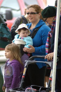 Carnie Wilson Strolls With Her Sunday Market Girls