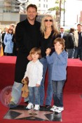 Russell Crowe Celebrates New Hollywood Star With His Family