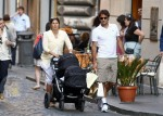 Roger and Mirka Federer with their twins