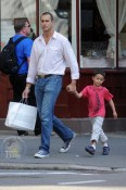 Nigel Barker and Family Enjoy a West Village Playdate