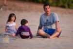 Adam Sandler & His Beach Babes Chill in Hawaii
