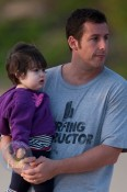 Adam Sandler & His Beach Babes Chill in Hawaii
