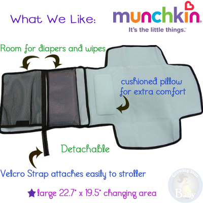 Munchkin Diaper Change Travel Kit