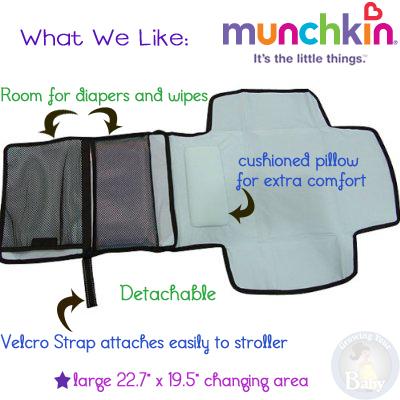 Munchkin Diaper Change Travel Kit