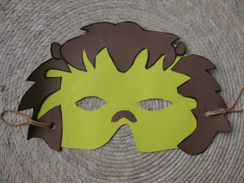 Craft Thursday With Lisa Lopez: Completed mask