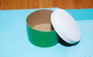 Painted Box and lid