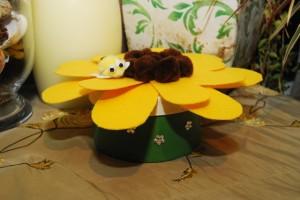 Craft Thursday: Sunflower Treasure Box
