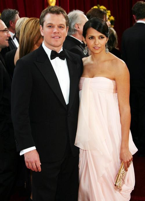 Matt and Luciana Damon