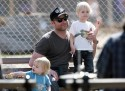 Liev Schrieber Enjoys A Day Out With His Boys!