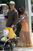 Matthew McConaughey & His Family Attend A Birthday Party!