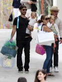 Tobey Maguire Enjoys Easter With His Family in LA