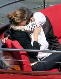 Tom and Gisele Take Benjamin on a Boat Cruise in Paris!