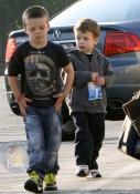 Cruz Beckham and John Moynahan