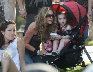 Drea de Matteo and Family Enjoy Coachella Music Festival