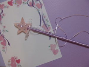 fairy craft completed wand