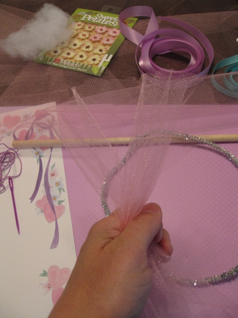fairy craft tiara step 2
