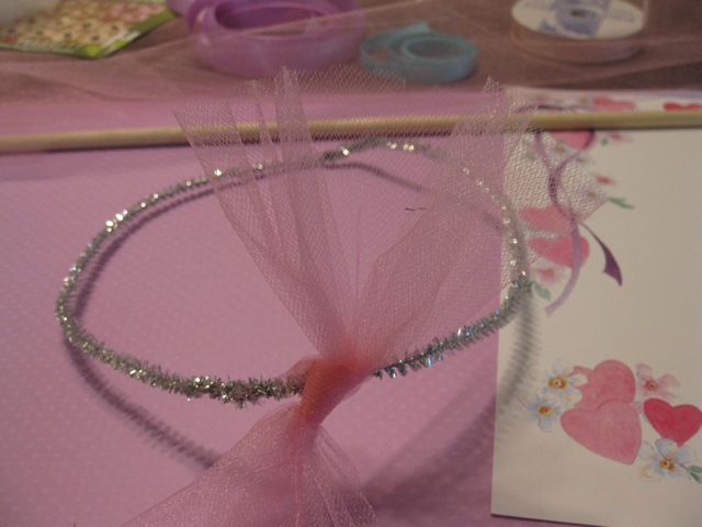 fairy craft tiara step 3