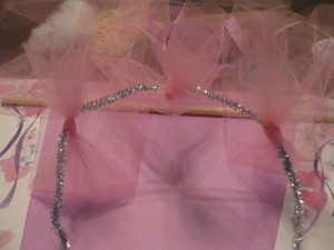 fairy craft tiara step 4