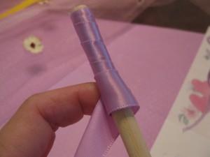 fairy craft wand step 1
