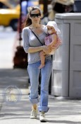 Sarah Jessica Parker with one of her twins
